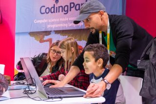 Coding sessions for kids on Saturday