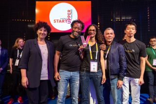 OK Alfred (Ecole 42) won the 1st edition of the Next Startupper Challenge